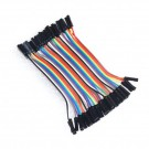 40 Pin Female to Female Jumper Cable 10CM