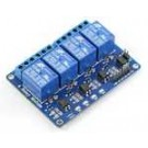 4 Channel Optically Isolated Relay Card 12VDC