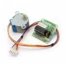 5 volt stepper motor and simple driver works with a micro