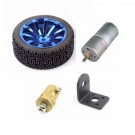 2-5/8 wheel motor and gear reduction