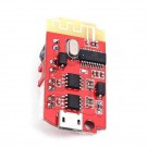 CT14 Mini Stereo Bluetooth Amplifier Module BLE 4.2 Power Amplifier Board Module 5VF 5W+5W with Micro USB Charging Port