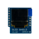 WeMos OLED shield for the mini series