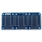 WeMos Triple (3) base for all WeMos mini modules