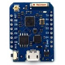 WeMos PRO with 16MB flash, external antenna connector and built-in ceramic antenna based on ESP-8266EX